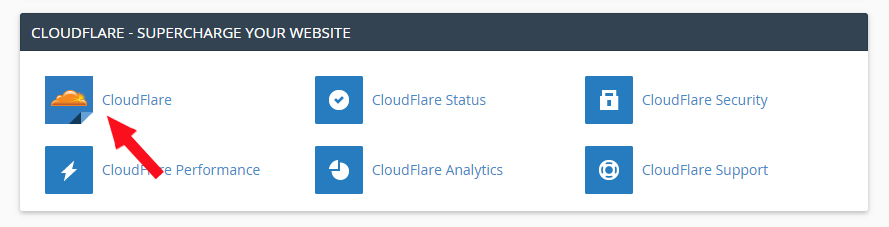 cai dat cloudflare tai cPanel