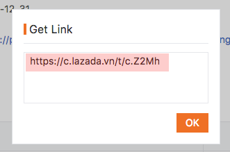 lay link lien ket cua lazada