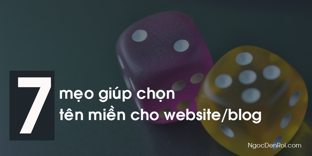 cach choïn ten mien cho website/blog