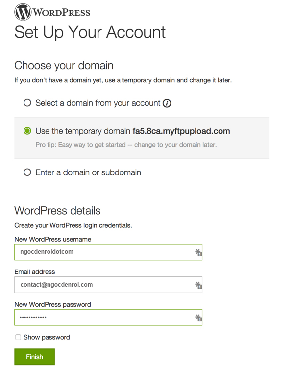 su dung wordpress managed hosting cua godaddy