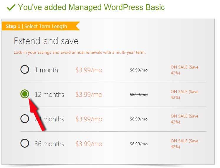 cach dang ky wordpress managed hosting cua godaddy
