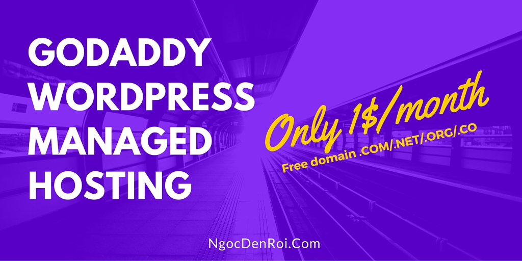 Godaddy wordpress managed hosting