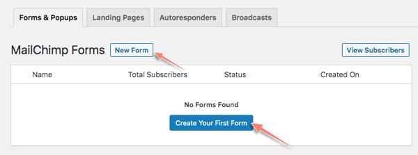 cách tạo form đăng ký email với mailmunch