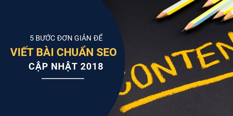 cách viết bài chuẩn seo 2018