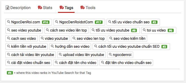 cách gắn tag cho công việc seo video lên top