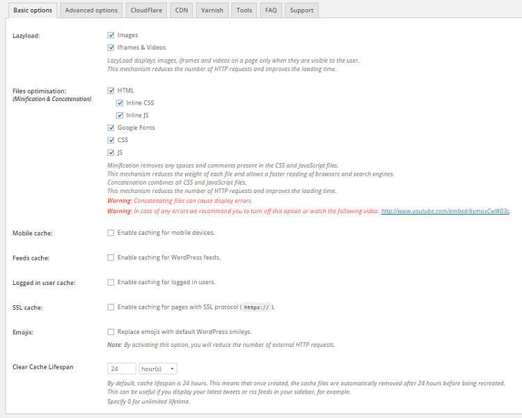 tăng tốc wordpress với plugin wp rocket