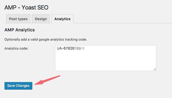 cai dat google analytics cho trang amp