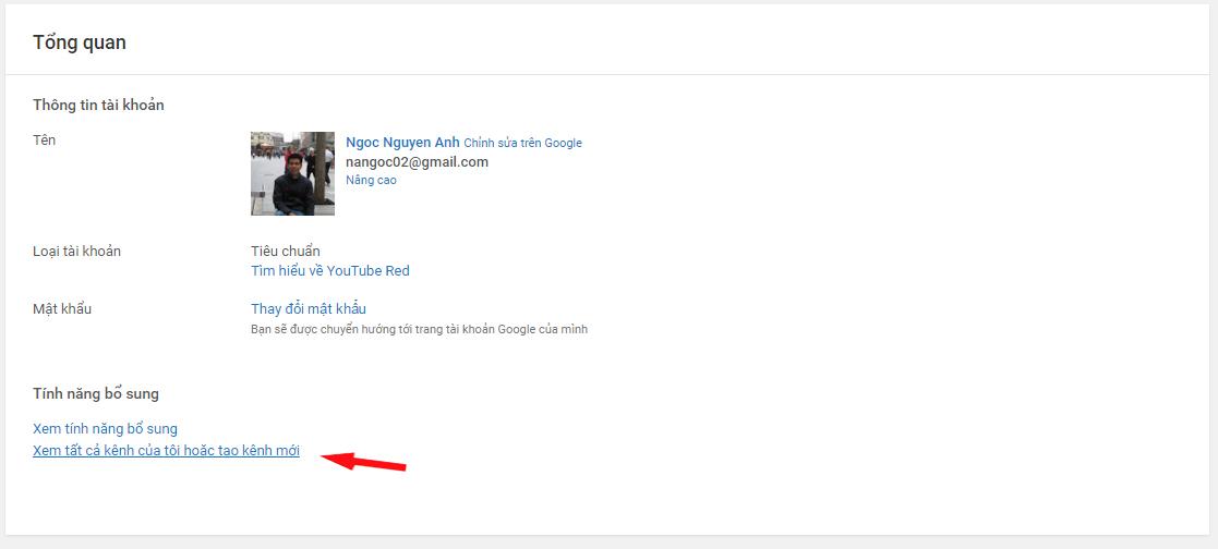 hướng dẫn tạo kênh youtube kiếm tiền