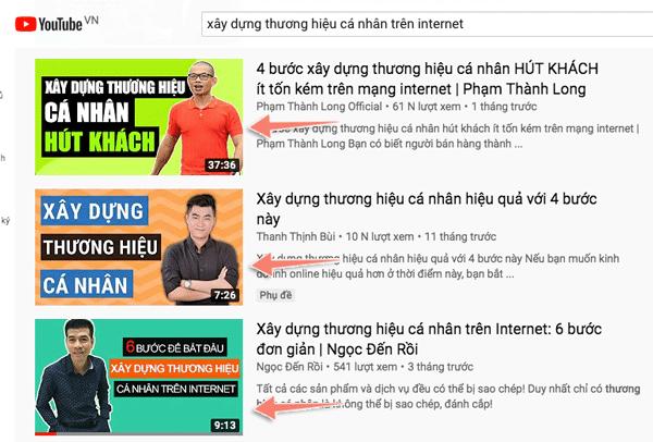 tối ưu ảnh thumbnail video youtube