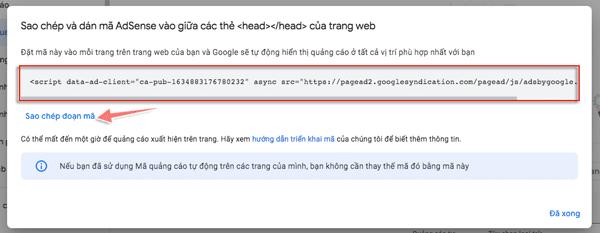 cách tạo mã quảng cáo google adsense tự động