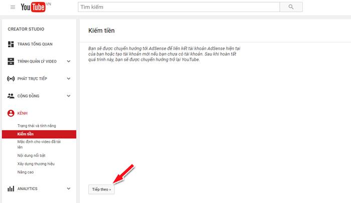 cách liên kết adsense cho kênh youtube