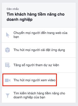 cách tạo quảng cáo video trên facebook