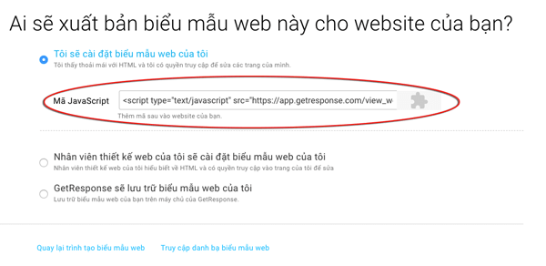 lay code webform trong getresponse
