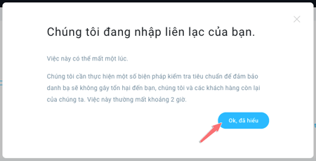 nhap danh sach email thanh cong