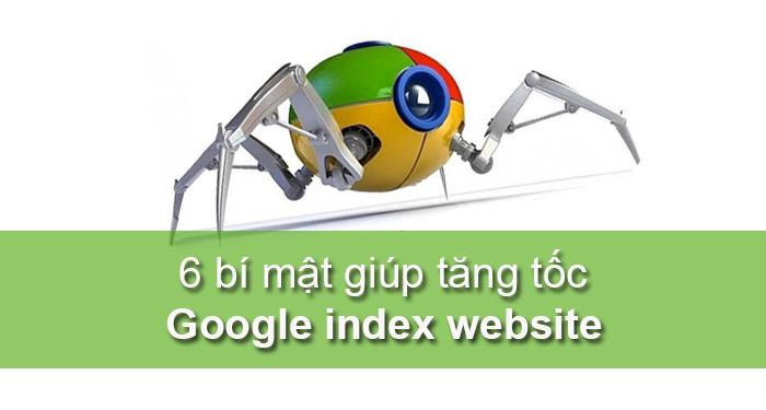 cách tăng tốc google index website