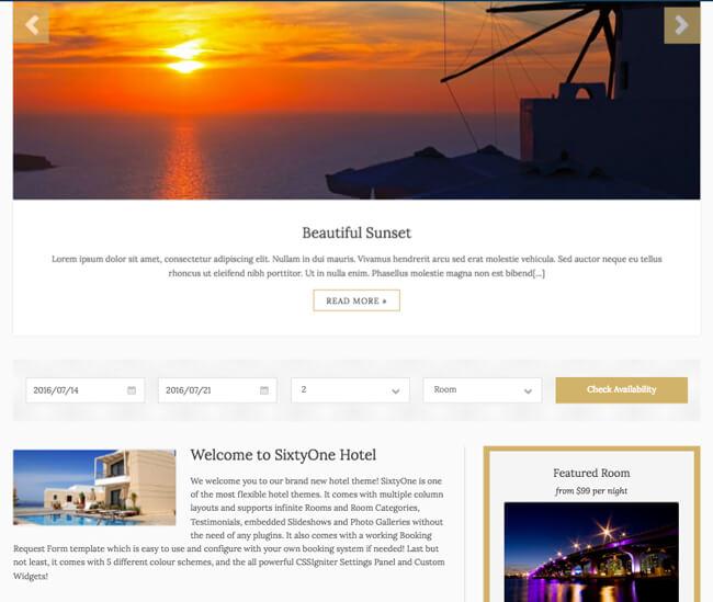 theme dành cho blog du lịch