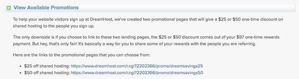 mã giảm giá dreamhost