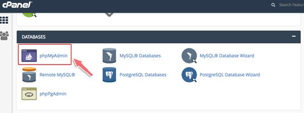 cách upload database lên host