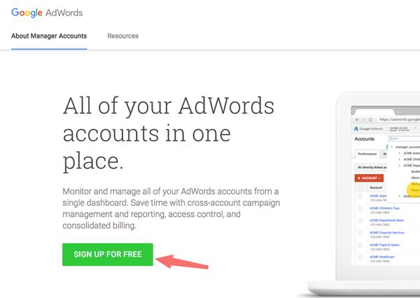 hướng dẫn sửa lỗi google keywords planner