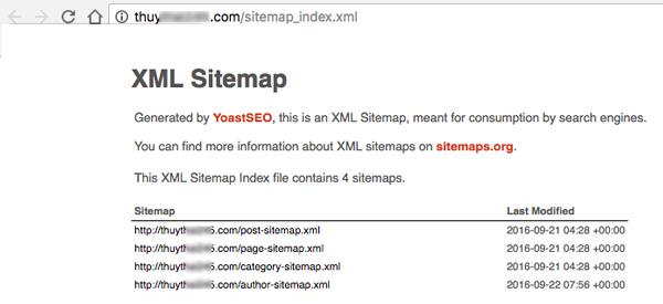 cach kiem tra XML sitemap da hoat dong chua