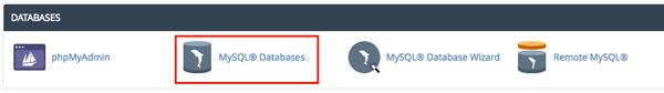 hướng dẫn tạo database trên wordpress