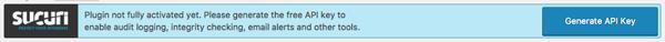 bao mat wordpress với plugin sucuri security