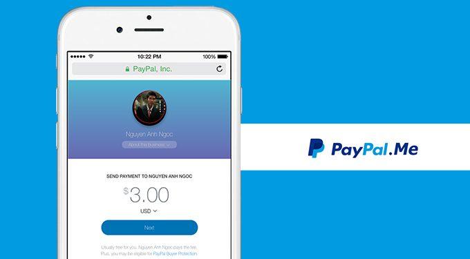 """Hướng dẫn nhận thanh toán với PayPal.me trong """"một nốt nhạc""""!"""