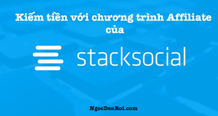 kiếm tiền với chương trình affiliate của stacksocial