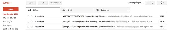 mua hosting tại dreamhost thanh cong