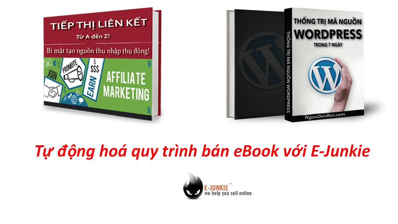 bán ebook với e-junkie