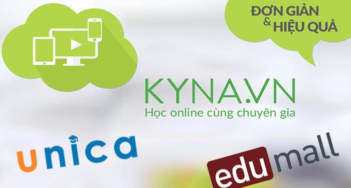 hướng dẫn kiếm tiền với unica, kyna và edumall