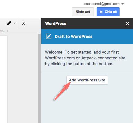 wordpress for google doc