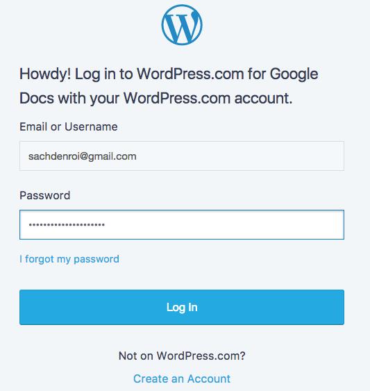ket noi voi wordpress.com