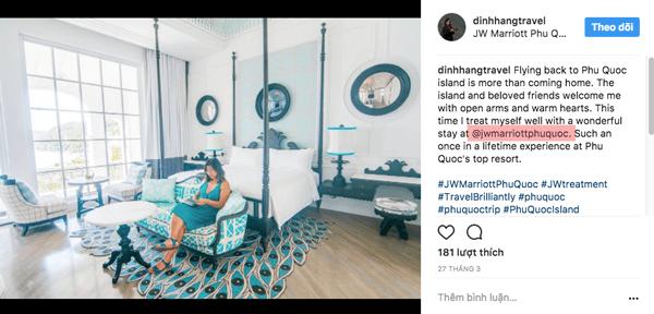 dang bai viet trai tro tren instagram