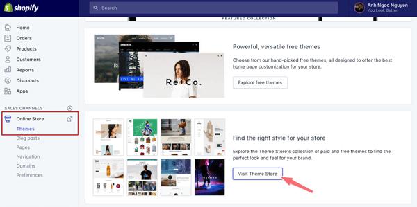 cai theme cho website shopify