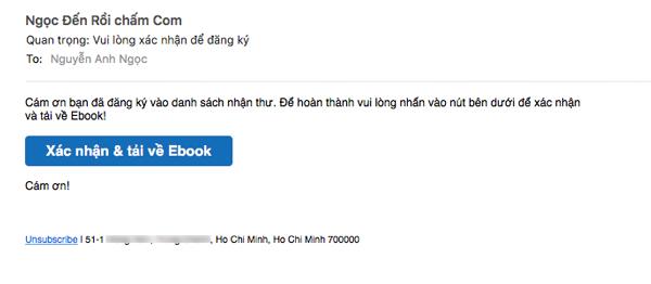 email xac nhan convertkit