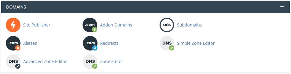 domain cpanel