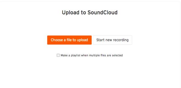 upload file audio