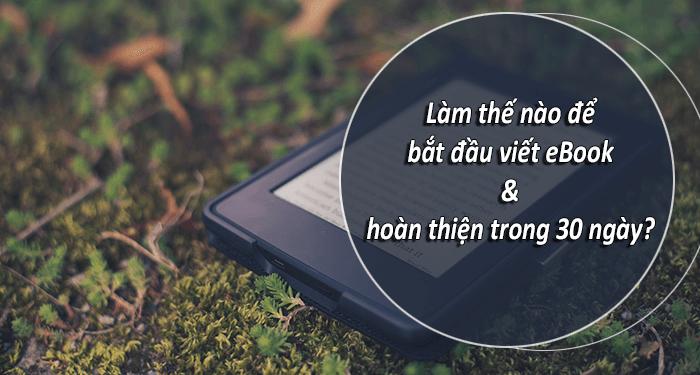lam the nao de bat dau viet ebook