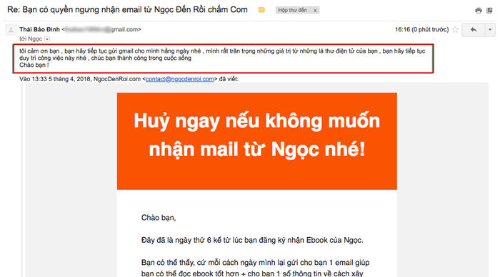 meo tao phan hoi khi lam email marketing