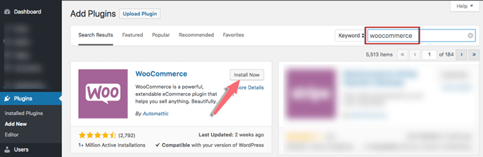 cai plugin woocommerce