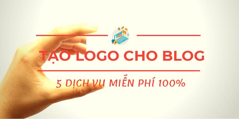 tạo logo cho blog