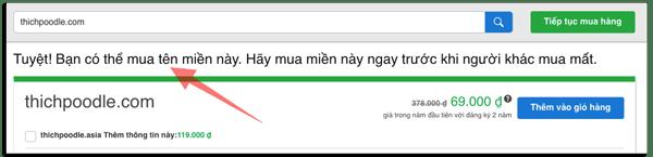 cách lựa chọn tên miền cho blog
