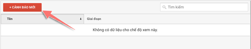 tao canh chinh in google analytics