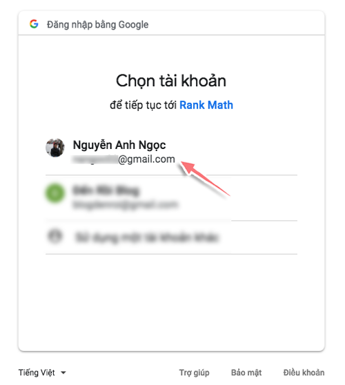 ket noi rank math seo voi google search console