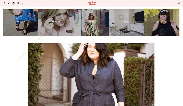 chủ đề blog thời trang làm đẹp
