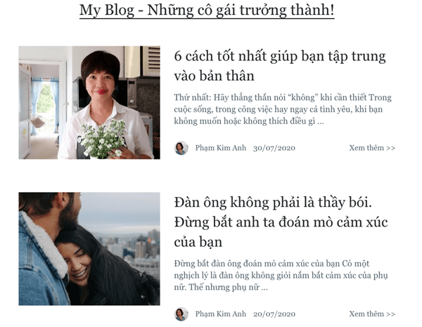 chủ đề blog về tình yêu hôn nhân các mối quan hệ