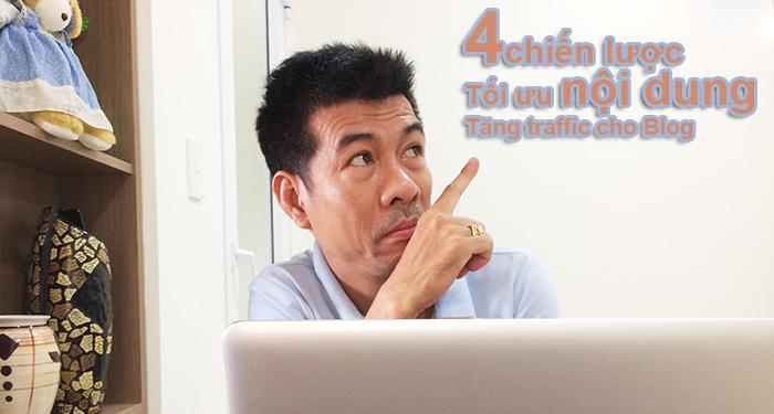 chiến lược tối ưu nội dung tăng traffic cho blog