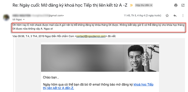 cach viet email chao hang
