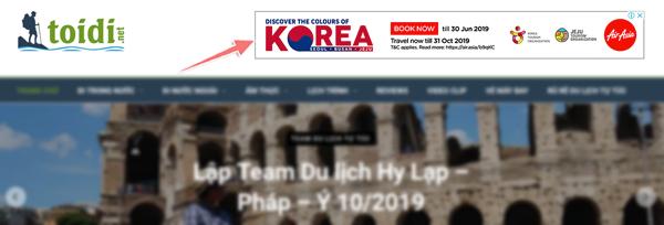 blogger du lich kiem tien bang quang cao google adsense